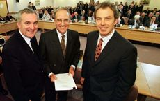 Rare, signed copy of The Good Friday Agreement to be auctioned