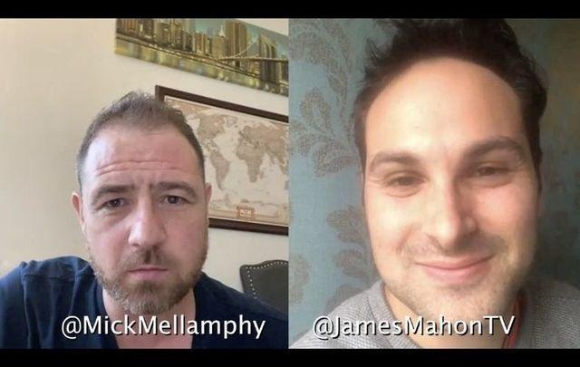 Michael Mellamphy + James Mahon