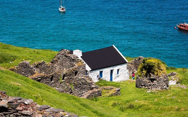 Great Blasket Island opened up to tourists on June 29 after three months of COVID-19 lockdown.