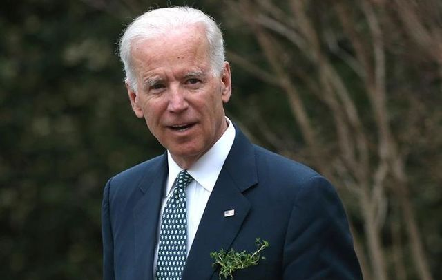 Former US Vice President and current Democratic presidential nominee Joe Biden.