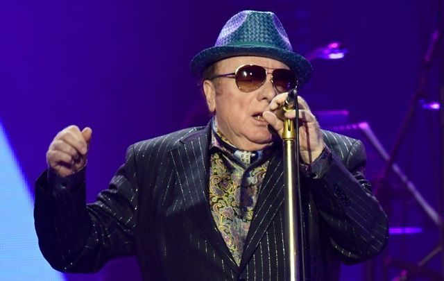 Van Morrison is unhappy with COVID-19 restrictions.