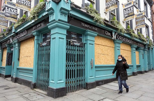 The Norseman pub in Temple Bar has been shuttered since mid-March.