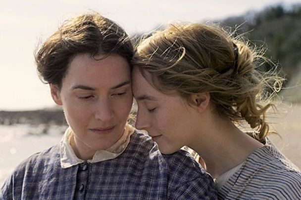 """Kate Winslet and Saoirse Ronan star in \""""Ammonite.\"""""""
