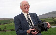 Legendary Irish concertina player Chris Droney has passed away