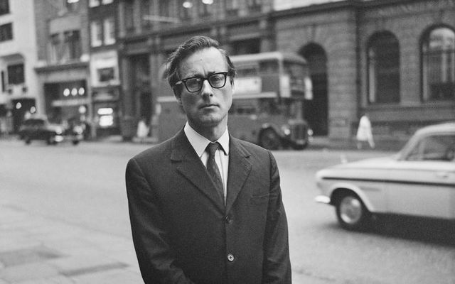 Harold Evans in London in 1968. He died at the age of 92 on Wednesday.