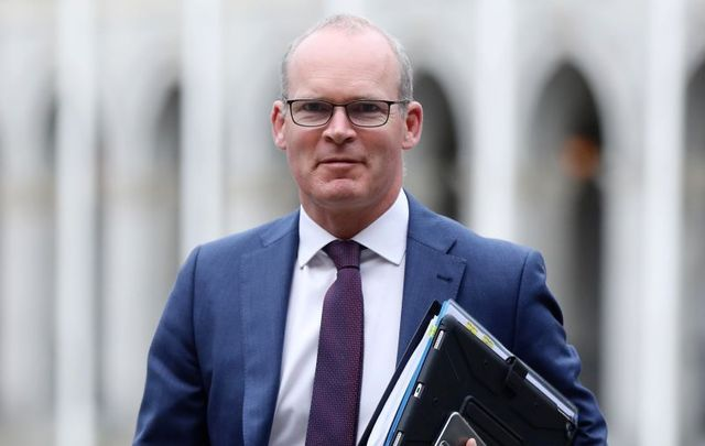 Ireland\'s Minister for Foreign Affairs Simon Coveney will travel to Washington on Monday.