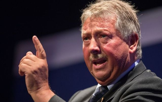 Sammy Wilson was photographed on the London Underground without a mask on Thursday morning.