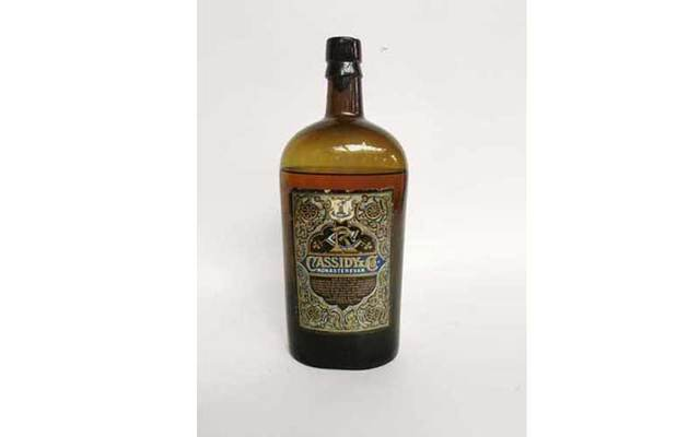 A rare bottle of Cassidy & Monastervin whiskey from the 1880s is up for auction.