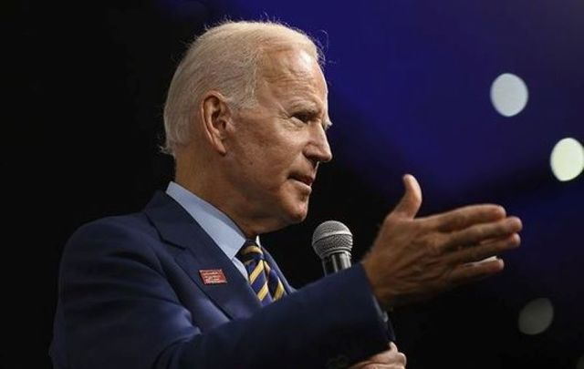 Biden compared Trump to one of Hitler\'s most trusted associates on Saturday.