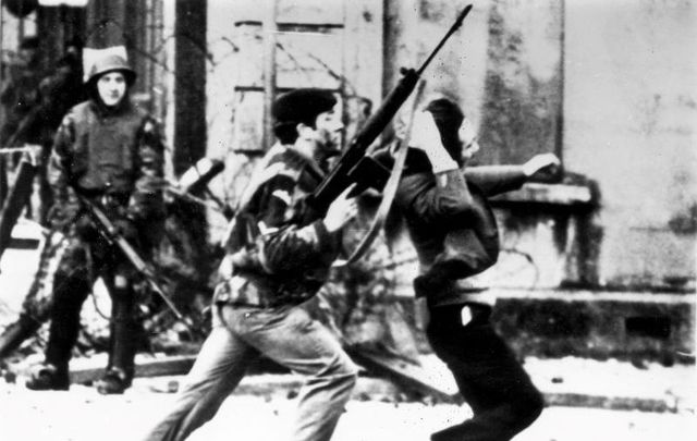 January 30, 1972: Violence erupts in Derry as British soldiers open fire on civilians.