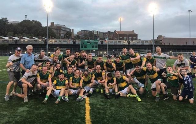 September 27, 2020: St. Barnabas GFC wins the New York GAA Senior Football Championship for the first time ever.