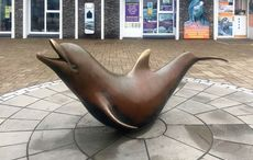 2000 - A bronze life-size statue of Fungie the dolphin is unveiled in Dingle