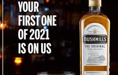 Free Bushmills Irish Whiskey for every American who wants it to start 2021