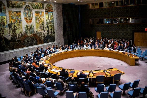 The United Nations Security Council, pictured here in August 2019.