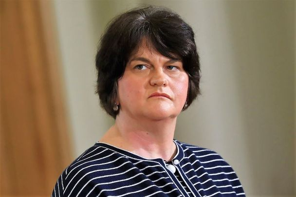 Arlene Foster, Northern Ireland\'s First Minister, pictured here in July 2020.