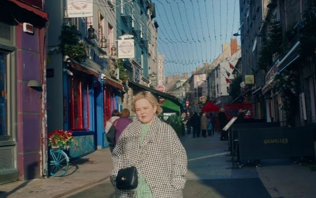 Derry Girls star Nicola Coughlan took viewers on a stroll through the streets of Galway.