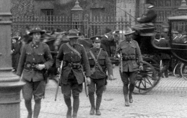 A photo from Defending Trinity College Dublin, Easter 1916: Anzacs and the Rising, by Rory Sweetman