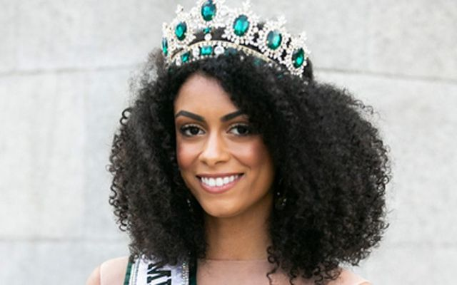 Miss Universe Ireland Fionnghuala O\'Reilly.