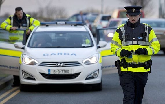 Stock image of gardaí.
