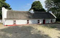Imagine the peace in this 300-year-old Donegal thatched cottage