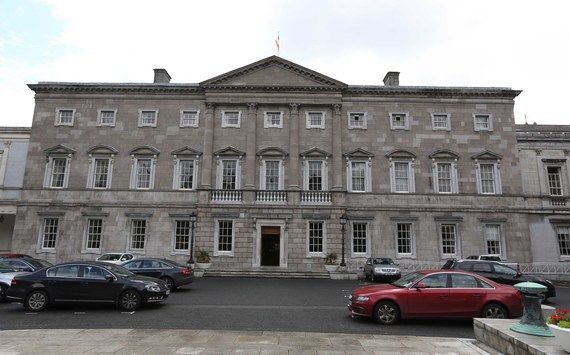 Leinster House is the seat of the Dáil and Seanad.