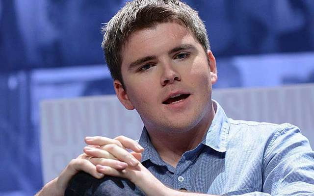 John Collison (above) founded Stripe with his brother Patrick.