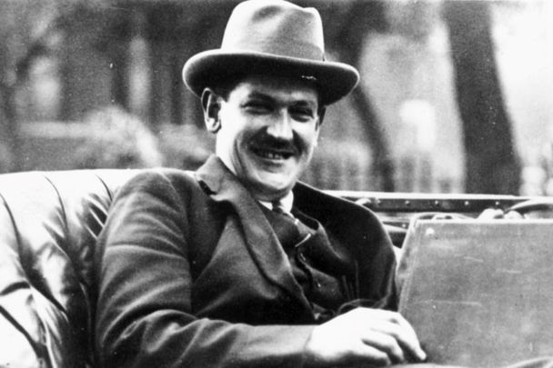 Irish leader Michael Collins, photographed in October 1921.