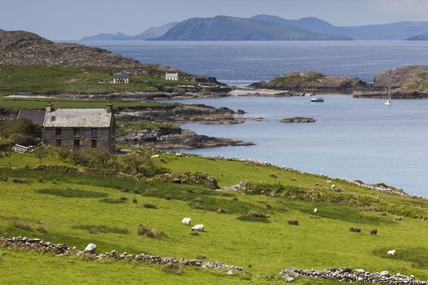 Beara Peninsula: Cailleach, or the hag, the goddess of winter, has associations with this area in Cork and Kerry.