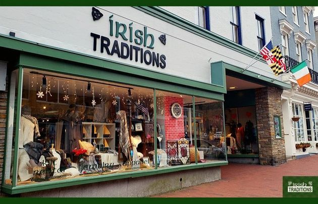 Irish Traditions store, in Annapolis, Maryland.