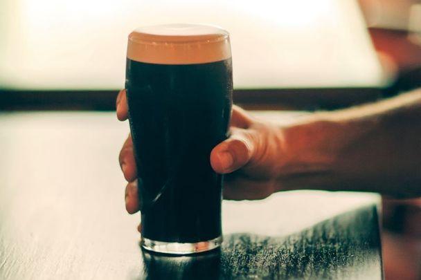 One last pint of Guinness: tragic last request.