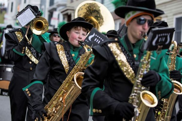 Scenes from the 2016 South Boston St. Patrick\'s Day Parade.