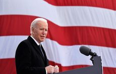 Quoting James Joyce, an emotional Joe Biden bids Delaware farewell