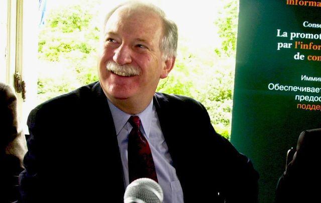 Former US Congressman, Bruce Morrison.