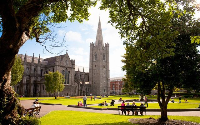 St Patrick\'s Cathedral in Dublin.