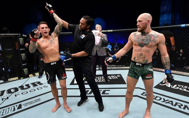 Dustin Poirier defeated Conor McGregor at UFC257 in Abu Dhabi.
