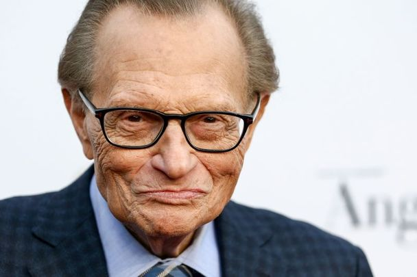Larry King, pictured here in 2017.