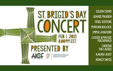 WATCH: A Celebration of St. Brigid - live Irish music and dance performances