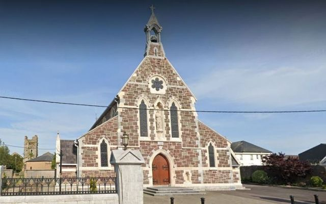 Vasile fished for envelopes in the collection box at St. Mary\'s Church in Carrigtwohill.