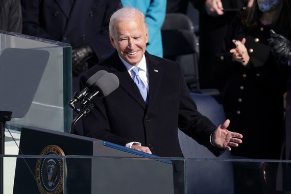 Joe Biden will travel to Cornwall in June for a G7 summit.