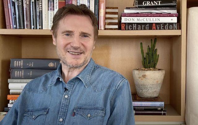 County Antrim Hollywood legend, Liam Neeson.