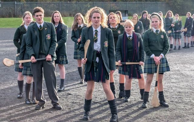 A still from season two of \'Derry Girls.\'