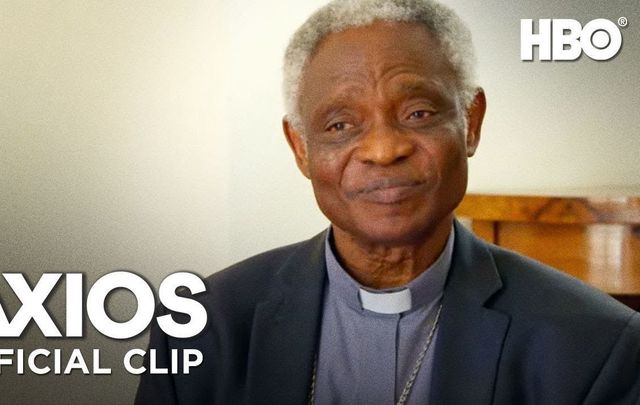 "Cardinal Peter Turkson on HBO\'s \""Axios\""."