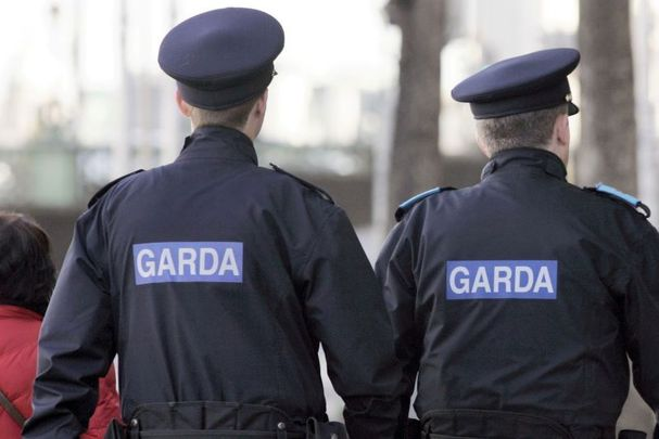 Two Irish police officers are at the center of two separate criminal investigations.