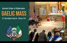 WATCH: AOH's Gaelic Mass in New York goes worldwide