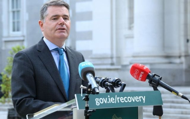 Irish Minister for Finance Paschal Donohoe.