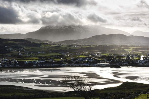Dunfanaghy, Donegal, near to where the winning photo was taken.