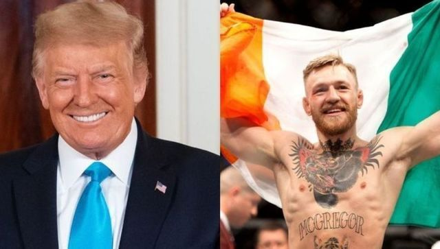 """McGregor had previously called Trump a \""""phenomenal president\"""" in a gushing post on Twitter."""
