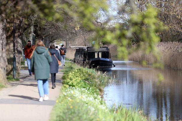 The Grand Canal at Portobello in Dublin 8.