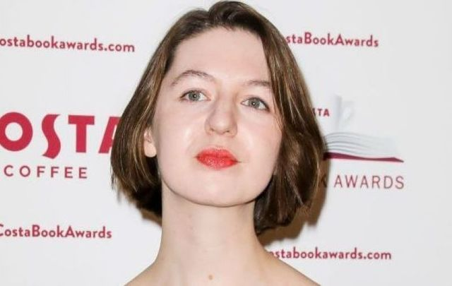 January 29, 2019: Sally Rooney attends the 2019 Costa Book Awards held at Quaglino\'s in London, England.