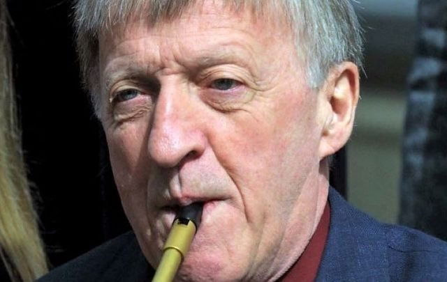 Paddy Moloney, pictured here in 2003.